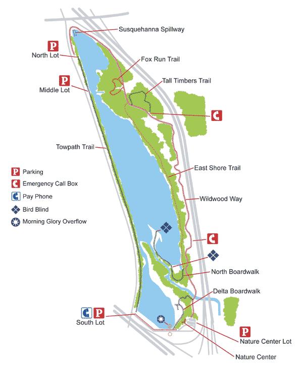 Wildwood Lake Map