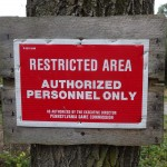 Access to Haldeman Island is usually restricted.