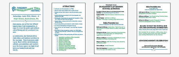 DATC Festival Brochure