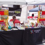 Discovery Toys vendor at DATC Festival