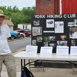 York Hiking Club Vendor at Duncannon Festival