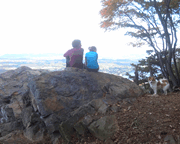 Couple at Hawk Rock