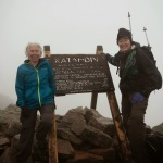 Drag'n Fly and Freckles summit Mount Katahdin