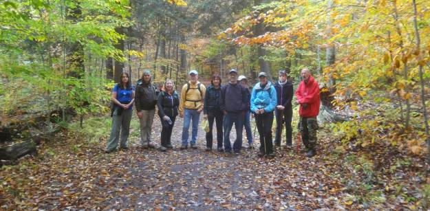 Duncannon Outdoor Club Group Photo at Ricketts Glen