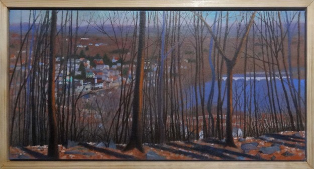 John Whitney's painting of Duncannon PA