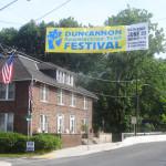Duncannon AT Festival banner near the new Market Street bridge