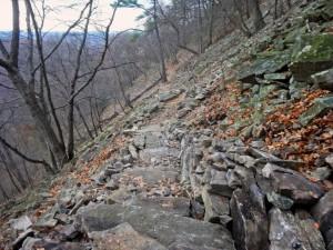 The Rock Slide Below Hawk Rock
