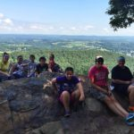 Duncannon Youth Group at Hawk Rock.